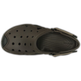 Crocs Swiftwater Clogs Heren, espresso-clay
